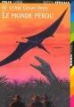 Couverture Le monde perdu Editions Folio  (Junior) 1997
