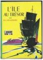 Couverture L'île au trésor Editions Hachette (Bibliothèque verte) 1950