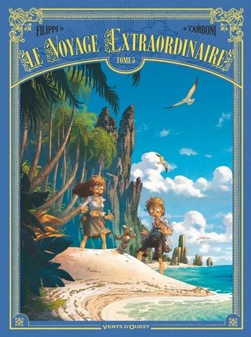 Couverture Le voyage extraordinaire, cycle 2 : Les îles mystérieuses, tome 2
