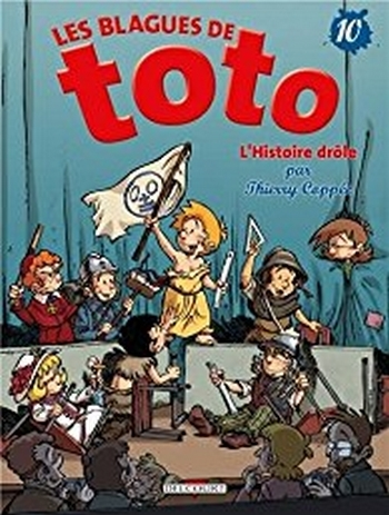 Couverture Les blagues de Toto, tome 10 : L'Histoire drôle
