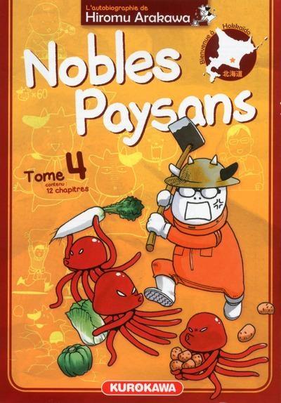 Couverture Nobles Paysans, tome 4
