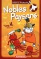 Couverture Nobles Paysans, tome 4 Editions Kurokawa (Humour) 2017