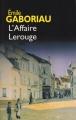 Couverture L'affaire Lerouge Editions France Loisirs 2003