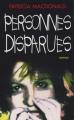 Couverture Personnes disparues Editions France Loisirs 1998