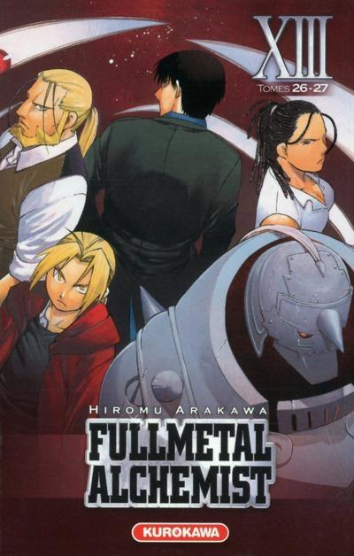 Couverture Fullmetal Alchemist, édition reliée, tome 13