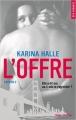 Couverture L'offre Editions Hugo & cie (Poche - New romance) 2017