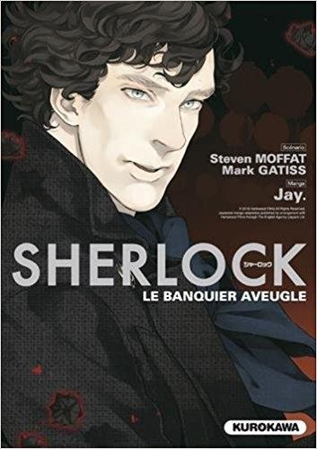 Couverture Sherlock, tome 2 : Le banquier aveugle