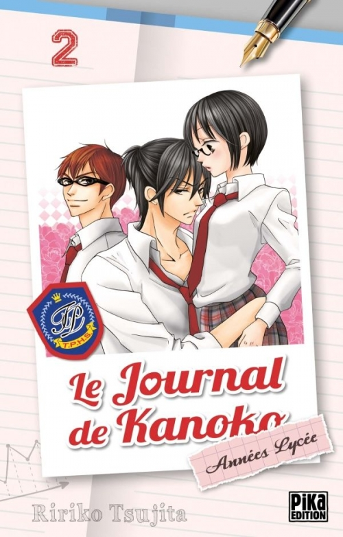 Couverture Le journal de Kanoko : Années lycée, tome 02