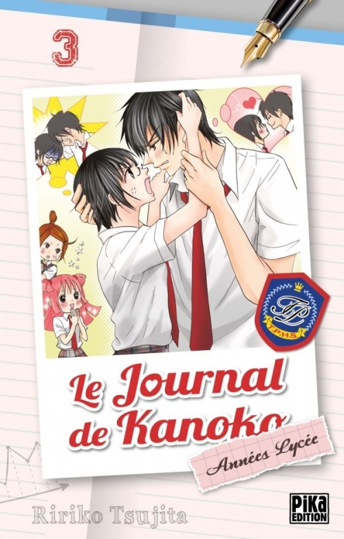 Couverture Le journal de Kanoko : Années lycée, tome 03
