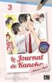 Couverture Le journal de Kanoko : Années lycée, tome 03 Editions Pika (Shôjo) 2017