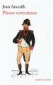 Couverture Pièces costumées Editions de La Table ronde (La petite vermillon) 2008