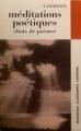 Couverture Méditations poétiques : Choix de poèmes / Méditations poétiques Editions Larousse (Nouveaux classiques) 1973