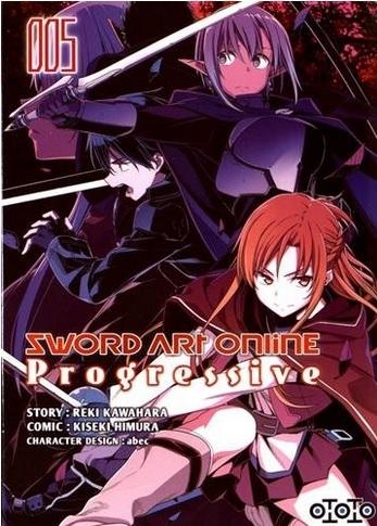 Couverture Sword Art Online : Progressive, tome 5