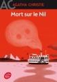 Couverture Mort sur le Nil Editions Le Livre de Poche (Jeunesse) 2017
