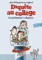 Couverture Le Professeur a disparu Editions Folio  (Junior) 2017