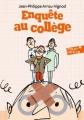 Couverture Enquête au collège Editions Folio  (Junior) 2017