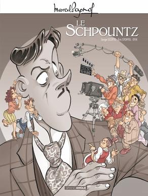 Couverture Le Schpountz (BD)