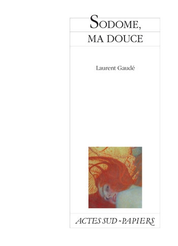 Couverture Sodome, ma douce