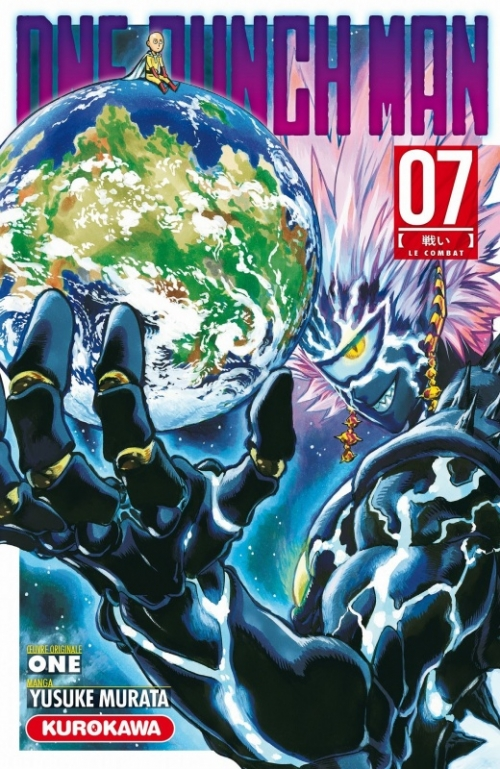 Couverture One-punch man, tome 07