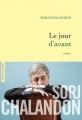 Couverture Le jour d'avant Editions Grasset 2017