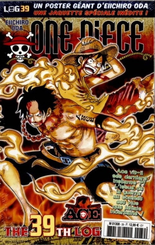 Couverture One Piece, Log, tome 39