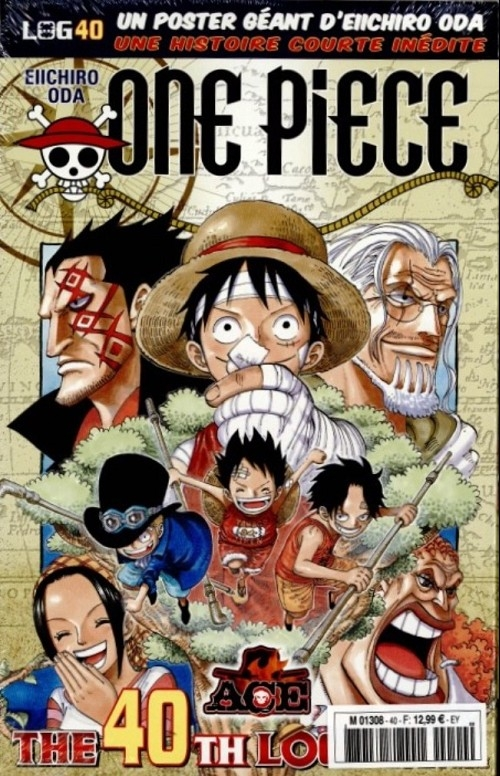 Couverture One Piece, Log, tome 40
