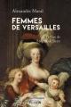 Couverture Femmes de Versailles Editions Perrin (Château de Versailles) 2016