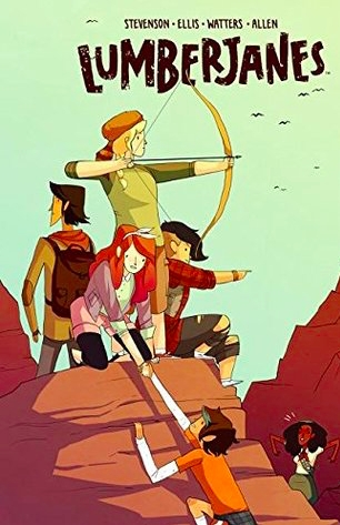 Couverture Lumberjanes, tome 2