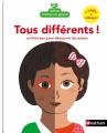 Couverture Tous différents ! Editions Nathan 2017