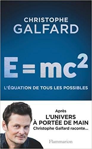 Couverture E= Mc2 : l'équation de tous les possibles