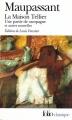 Couverture La maison Tellier Editions Folio  2007