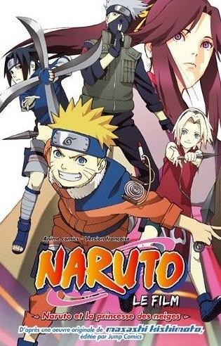 Naruto et la princesse des neiges livraddict - La princesse de neige ...