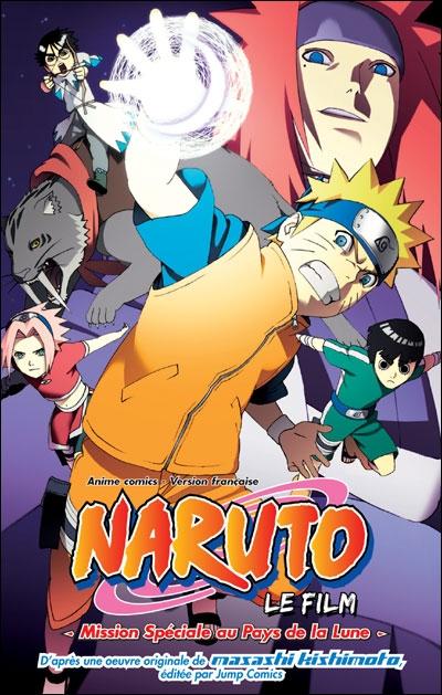 Couverture Naruto - Mission Spéciale au Pays de la Lune
