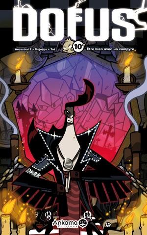 Couverture Dofus, tome 10 : Être bien avec un Vampyre