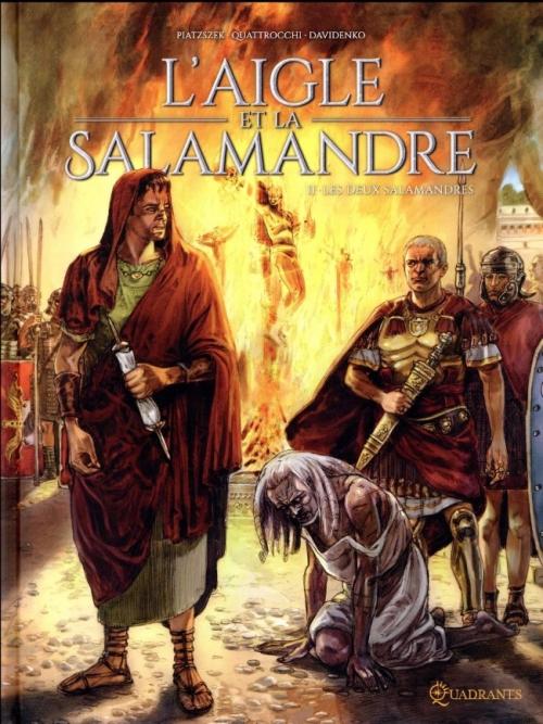 Couverture L'aigle et la salamandre, tome 2 : Les deux salamandres