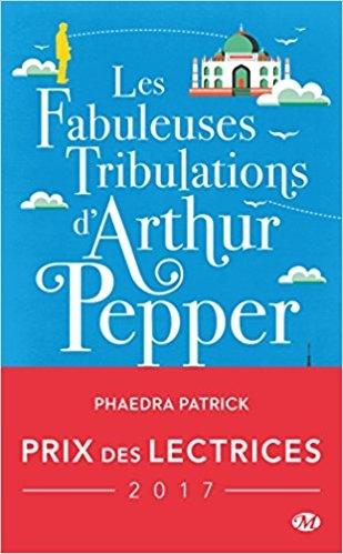 Couverture Les fabuleuses tribulations d'Arthur Pepper