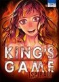 Couverture King's Game Spiral, tome 4 Editions Ki-oon (Seinen) 2017