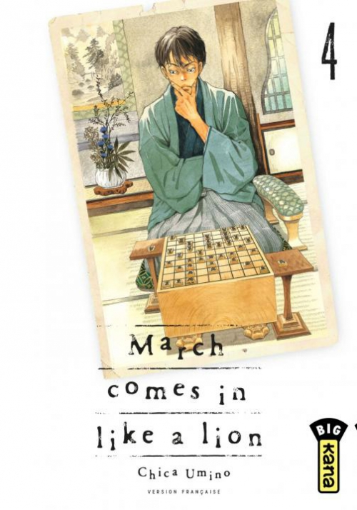 Couverture March comes in like a lion, tome 04