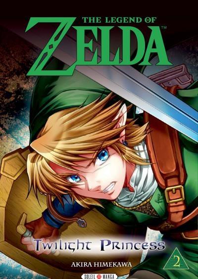 Couverture The legend of Zelda : Twilight Princess, tome 2