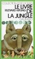 Couverture Le livre de la jungle Editions Gallimard  (1000 soleils) 1973