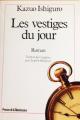 Couverture Les Vestiges du jour Editions Presses de la Renaissance 1990