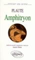 Couverture Amphitryon Editions Ellipses 1998