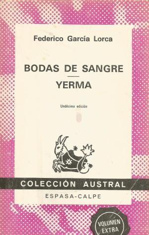Couverture Noces de sang et Yerma