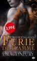 Couverture Dragonfury, tome 1 : Furie de flamme Editions Milady (Bit-lit) 2017