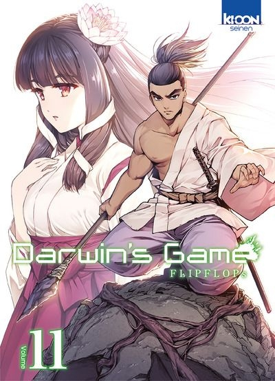 Couverture Darwin's Game, tome 11