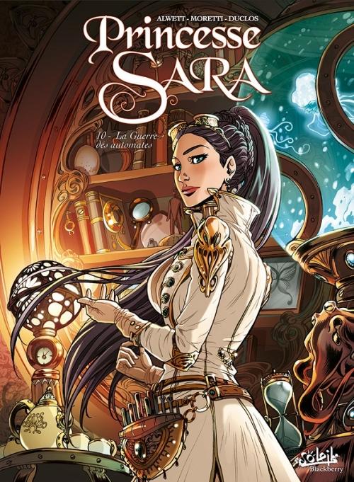 Couverture Princesse Sara, tome 10 : La guerre des automates