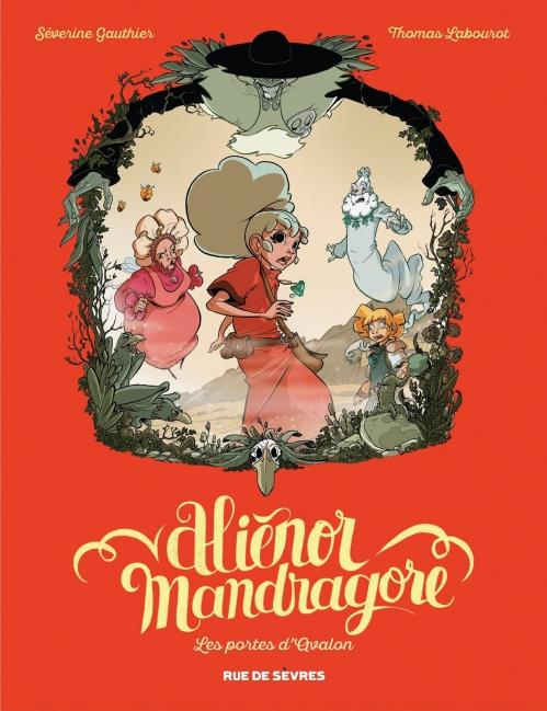 Couverture Aliénor Mandragore, tome 3 : Les portes d'Avalon