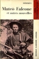 Couverture Mateo Falcone et autres nouvelles Editions Larousse 1972