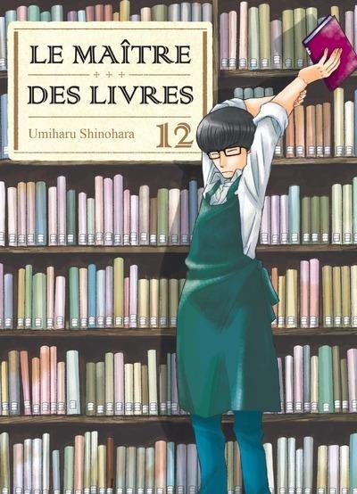 Couverture Le maître des livres, tome 12