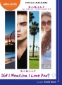 Couverture D.I.M.I.L.Y., tome 1 : Did I mention I love you ? Editions Audiolib 2017